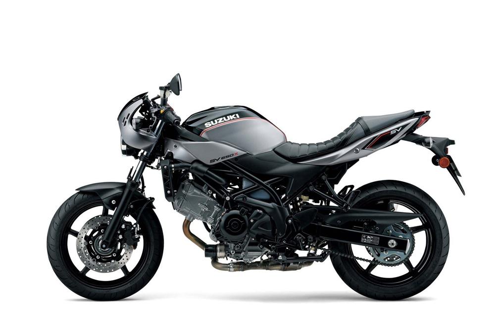 Suzuki SV650X 2018 - единственный мотоцикл Suzuki на EICMA 2017