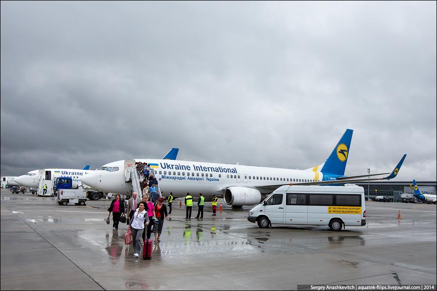 Зашкаливающая жадность Международных Украинских Авиалиний (МАУ)