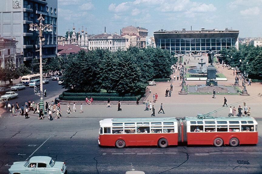 Пушкинская площадь, 1967 год