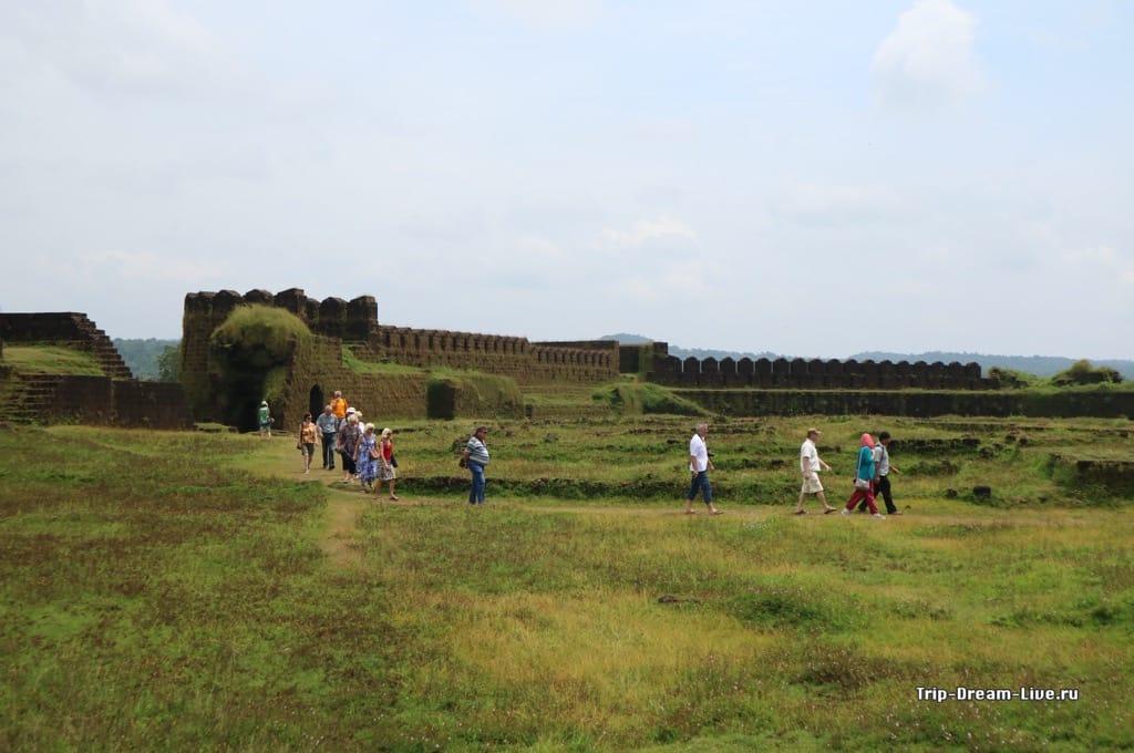Форт Мирджан в Карнатаке