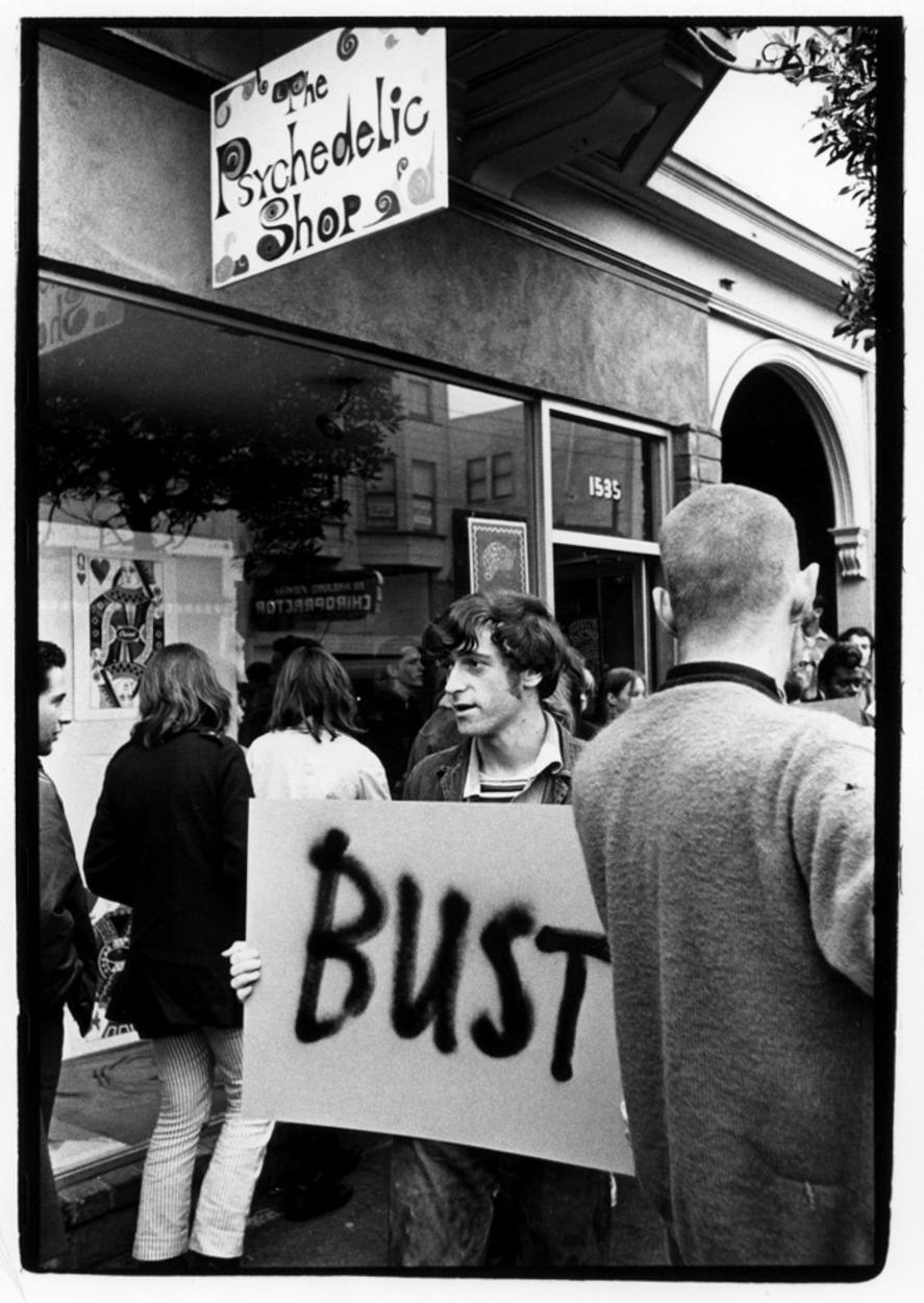 1966. Психоделический магазин, Сан-Франциско
