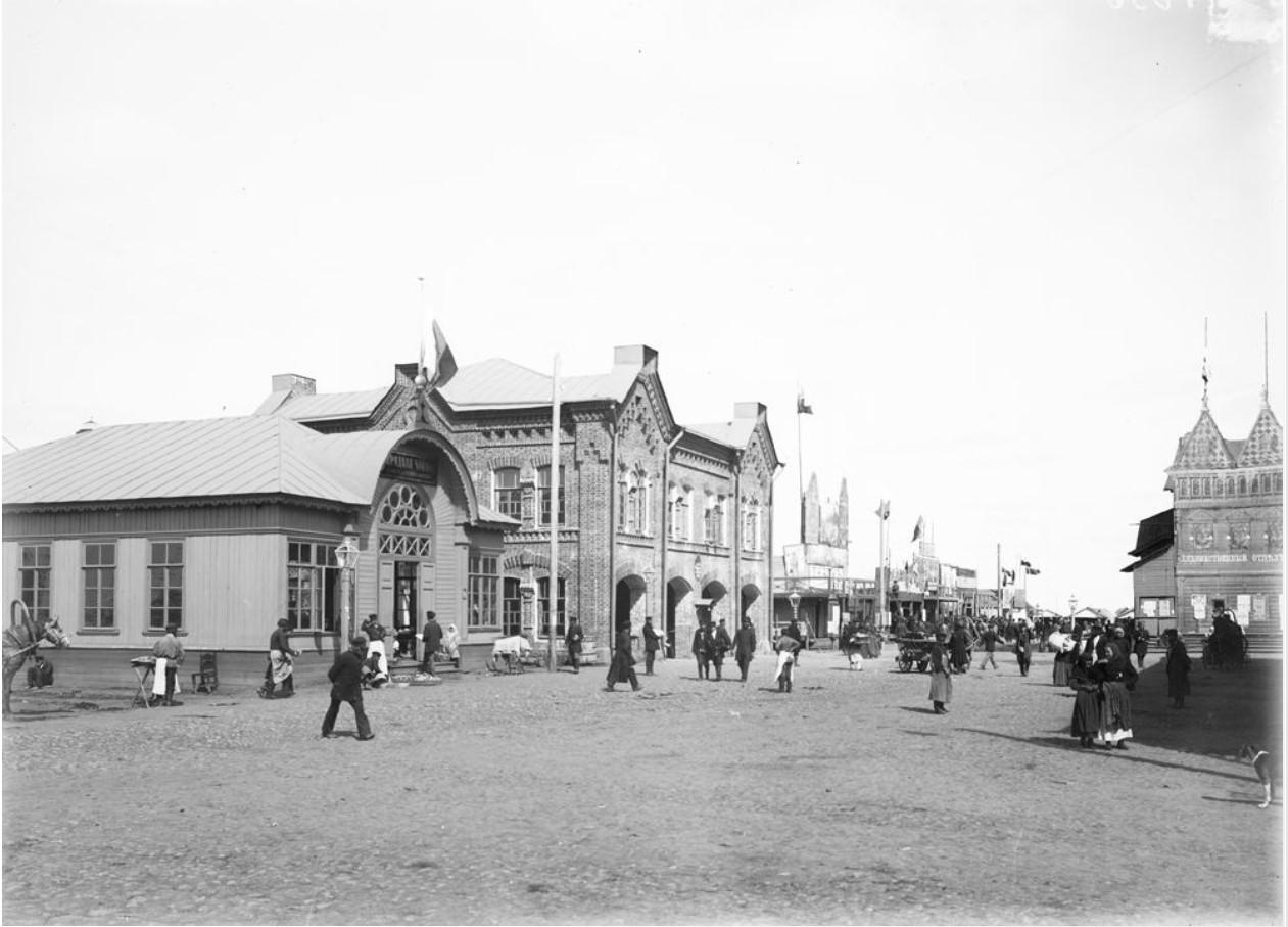 Нижегородская ярмарка. Общий вид Самокатской площади