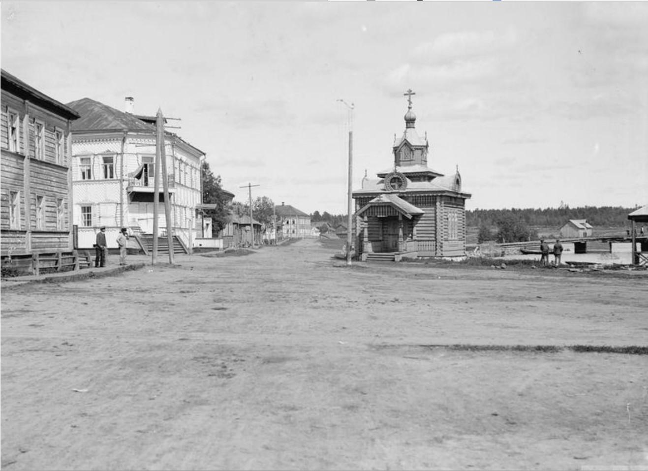 1919. Улица в Повенеце
