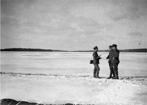1919. Озеро Виго в районе Надвоицы