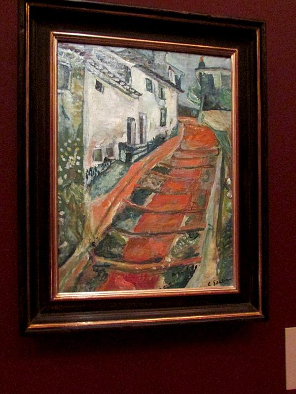 Х.Сутин Красная лестница в Кань 1018