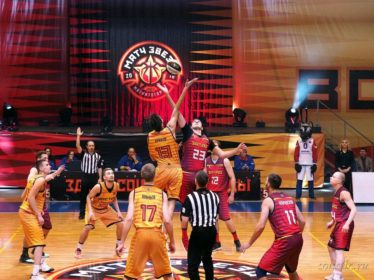 59 Матч звезд АСБ 2018 (ассоциации студенческого баскетбола)