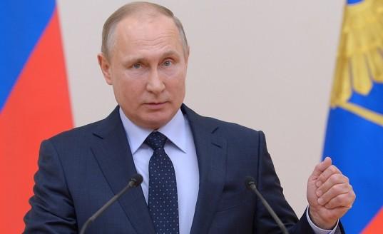 Путин поздравил сборную России по хоккею с мячом с победой на чемпионате мира