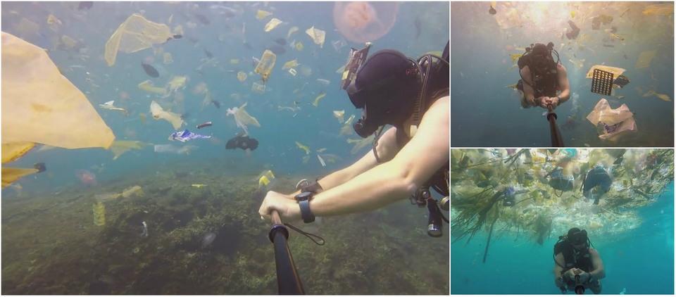 Сказочное Бали превращается в свалку пластиковых отходов