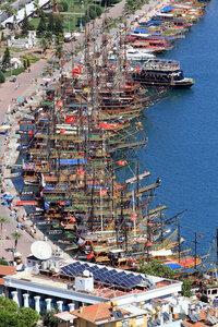 Пиратская бухта в Алании