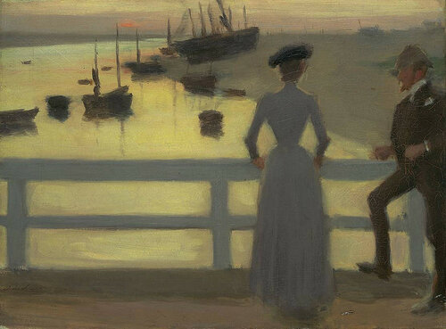 Philip Wilson Steer - The Bridge