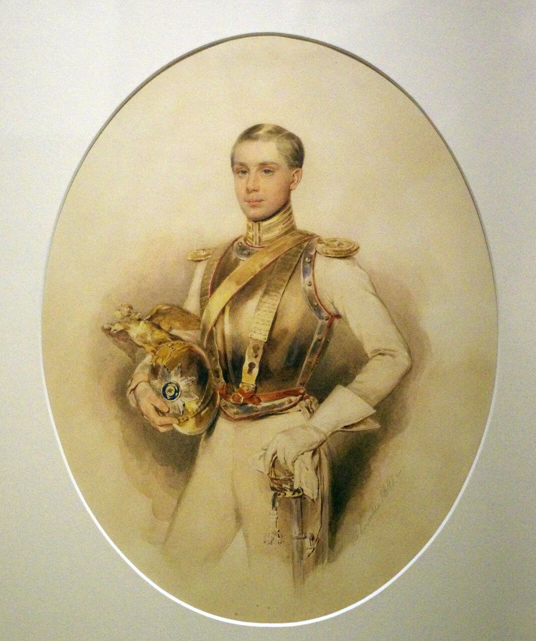 Петр Федорович Соколов. Портрет Г.И. Черткова. 1847