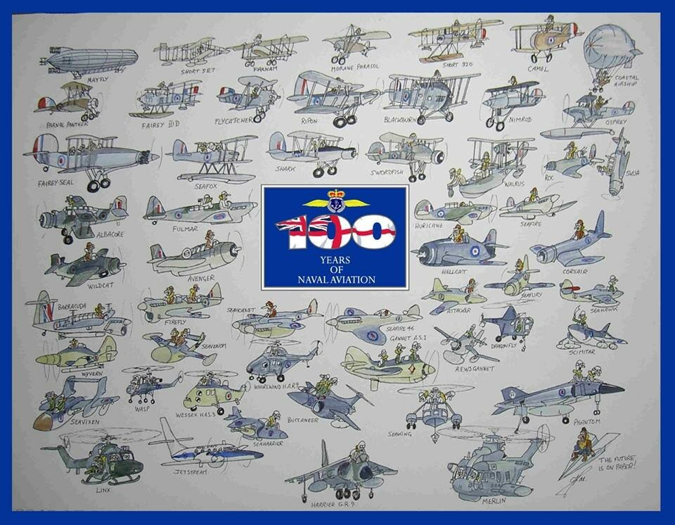 100 Years Of Naval Aviation.