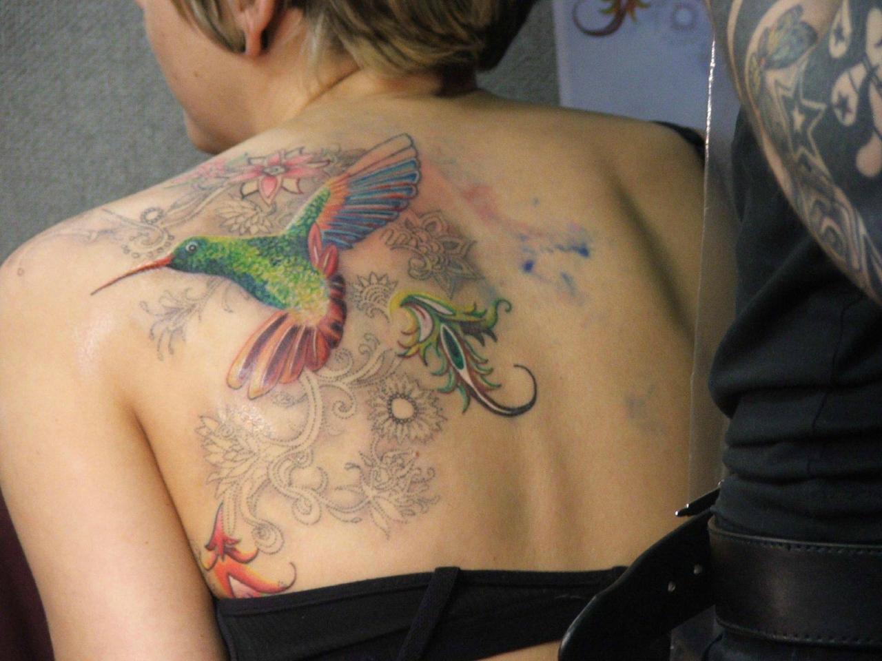 Maroosya tattoo of bird