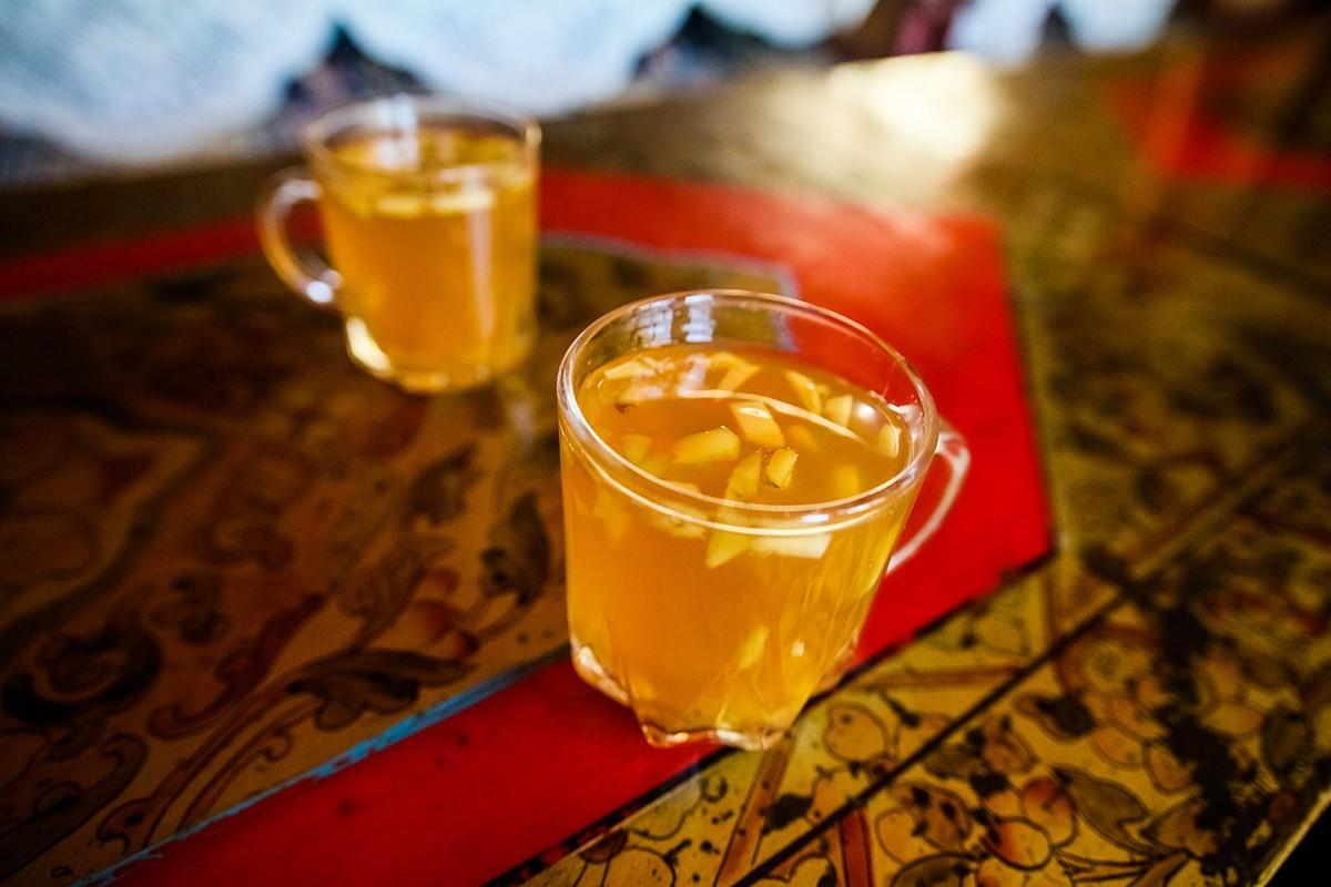 31. Имбирный чай. Чанг