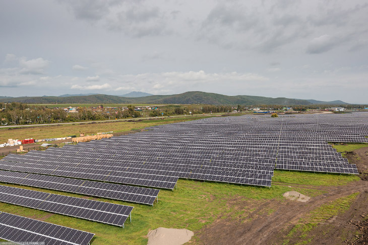 Сегодня в республике Алтай были запущены в промышленную эксплуатацию целых две солнечных электростан