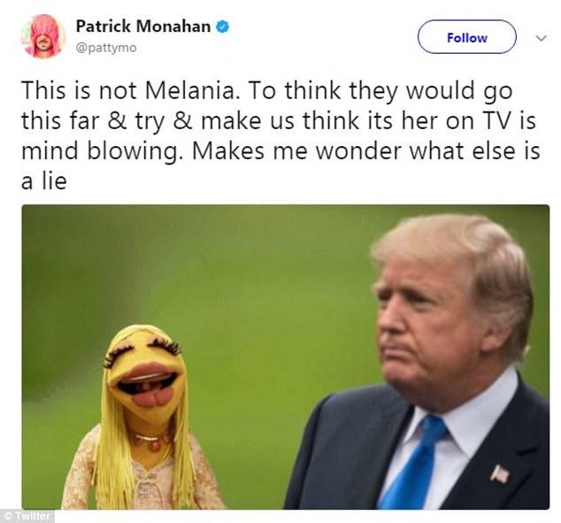 «Посмотрите на ее нос и очки»: интернет-пользователи заподозрили, что у Мелании Трамп есть двойник