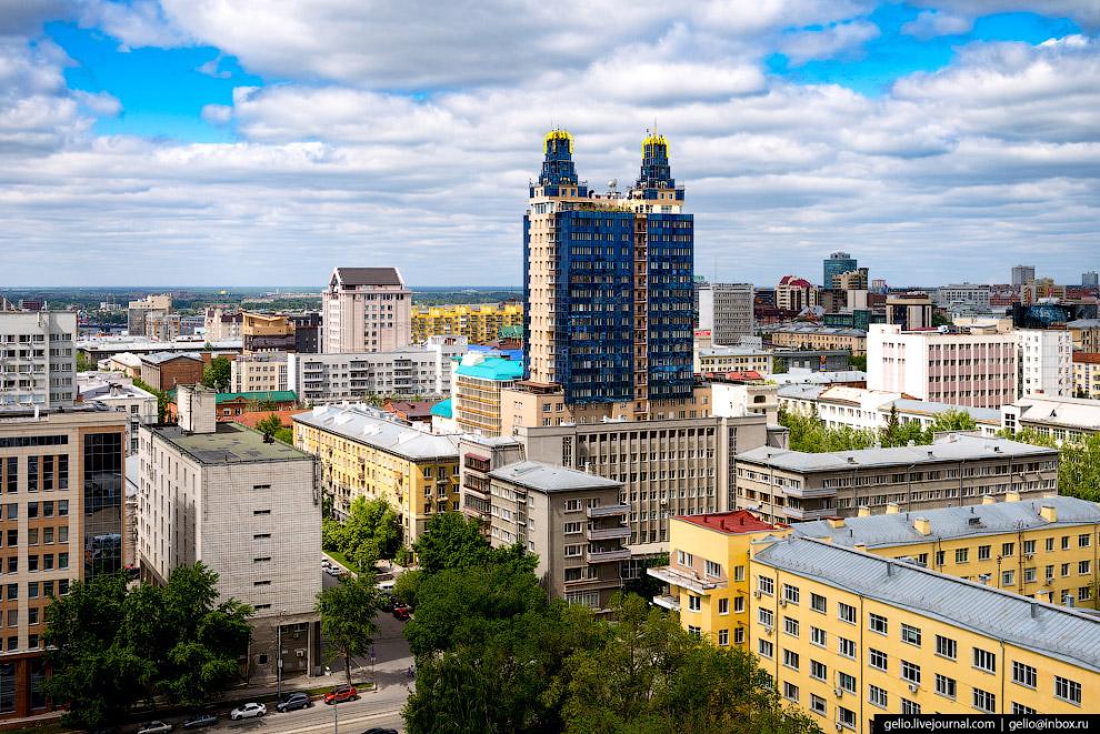 34. Вокзальная магистраль идет от привокзальной площади Гарина-Михайловского до центра Новосибирска.
