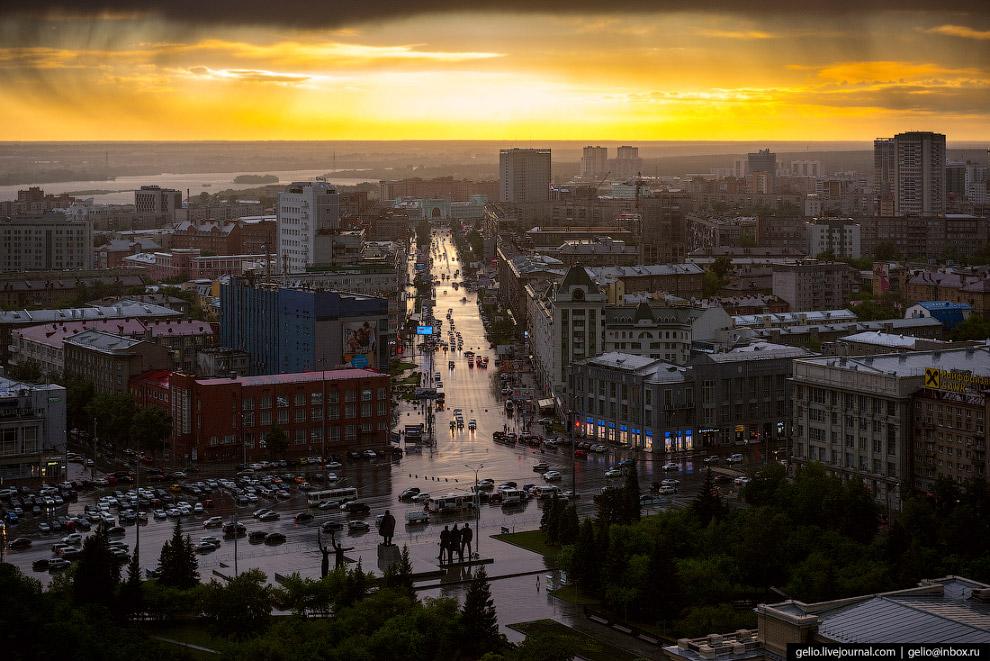 35. Вокзальная магистраль самая широкая улица Новосибирска — 24,5 метра.