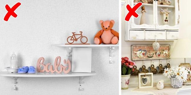 © depositphotos.com  © depositphotos.com     Убираем мелкие сувениры, статуэтки, иг