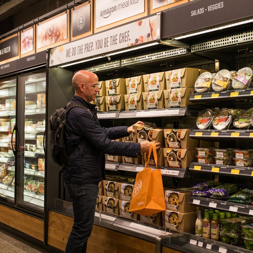Как устроен супермаркет Amazon, где нет ни продавцов, ни кассиров