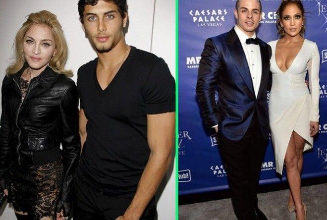 Мадонна, Мерайа Керри и другие знаменитости, влюбившиеся в альфонсов (5 фото)