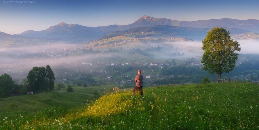 Пейзажи Закарпатья