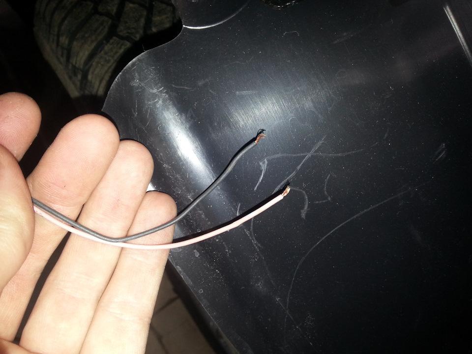 О грамотном ремонте порванных проводов