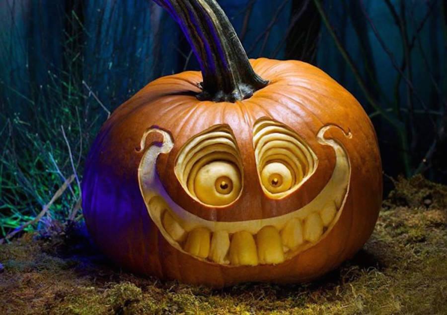 Amazing Halloween Carving Pumpkins (8 pics)