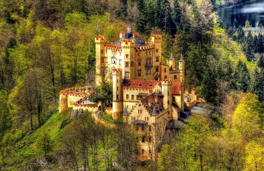 германия замок фото хоэншвангау