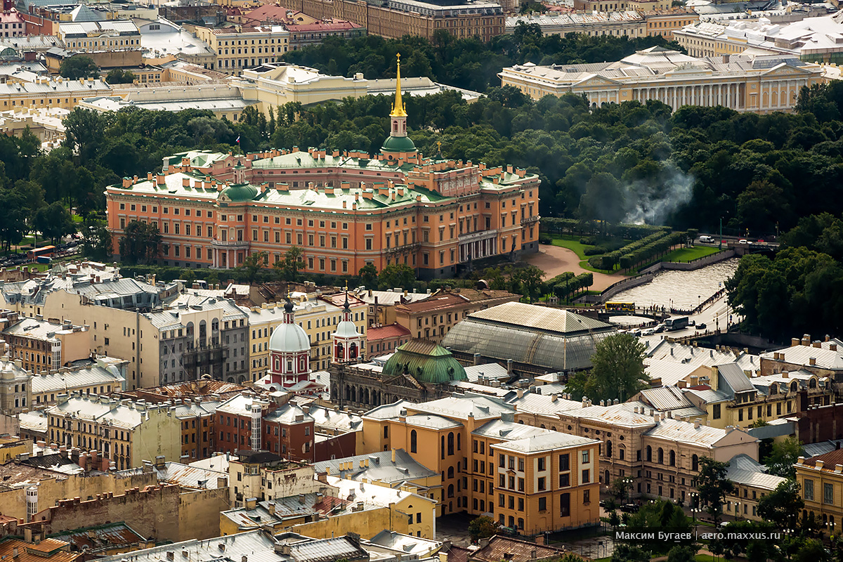 Saint Petersburg from a helicopter. 2017. Photo by Max Bugaev