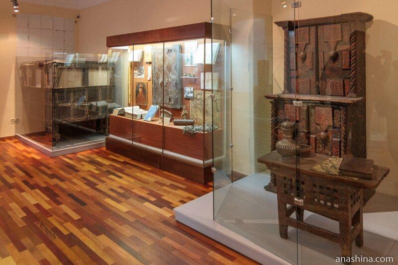 Одна из экспозиций, посвященная XVII веку