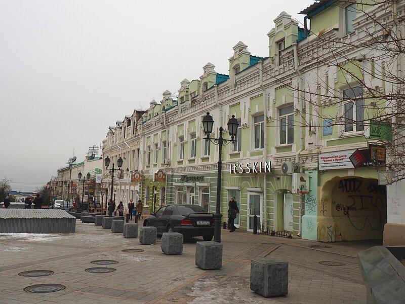Владивосток, улица Адмирала Фокина (Vladivostok, street Admiral Fokin)