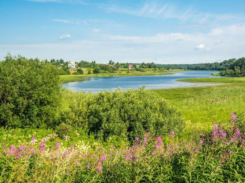 Озеро Вазеринское, д. Вазеринцы.