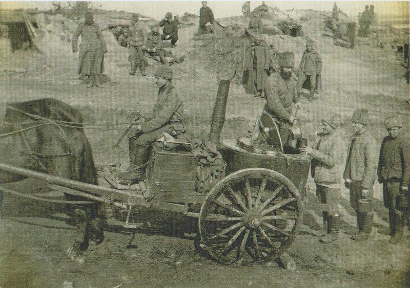 Первая Мировая война. Солдатская жизнь