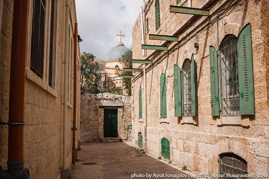 По Христианскому кварталу Иерусалима