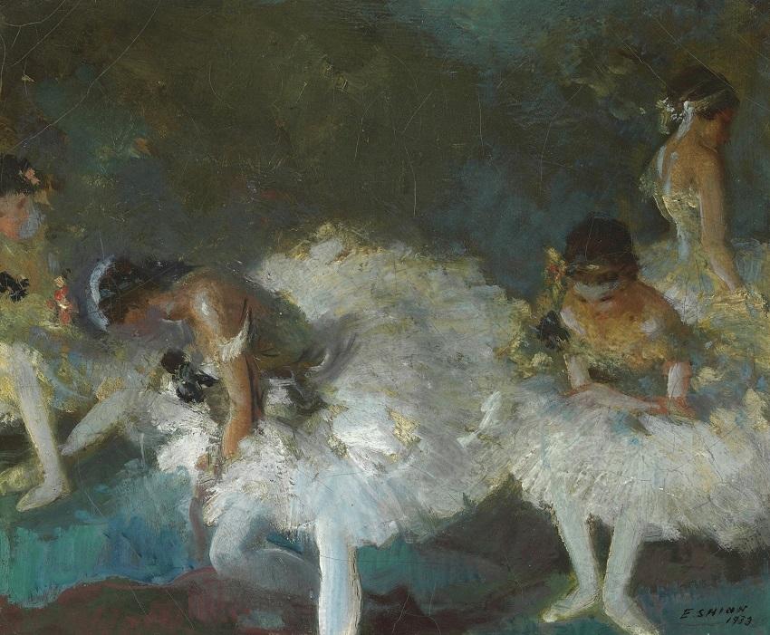 1933 Танцовщицы за кулисами (Dancers Backstage)