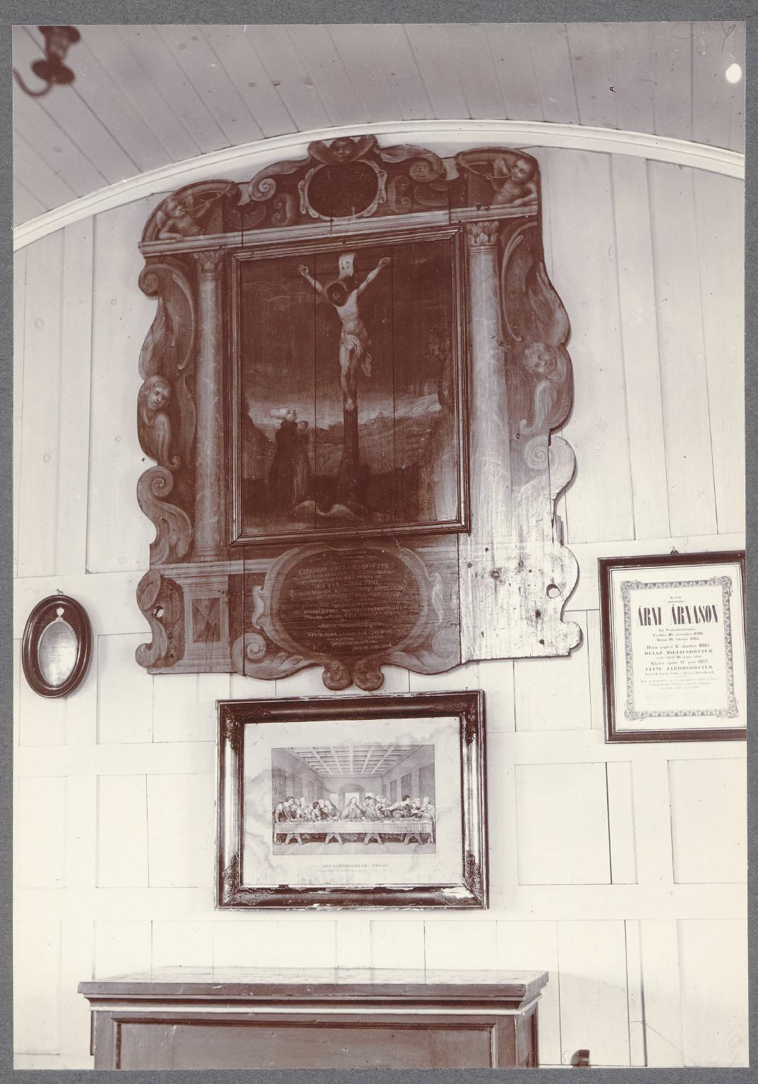 Сторолфшволл. Картины в церкви Св. Вульфила