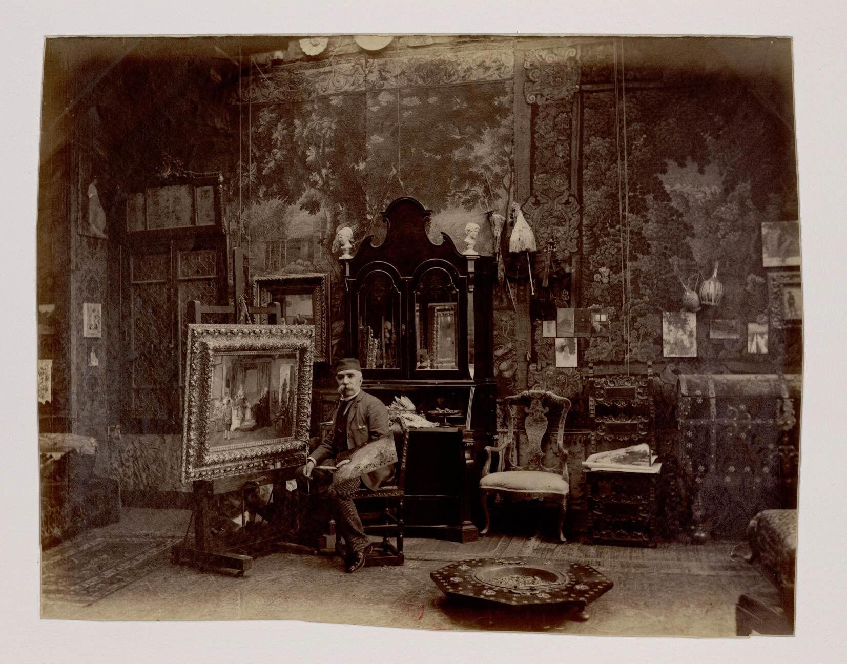 10. Хименес-И-Аранда Луис (1845-1928) - испанский художник-импрессионист