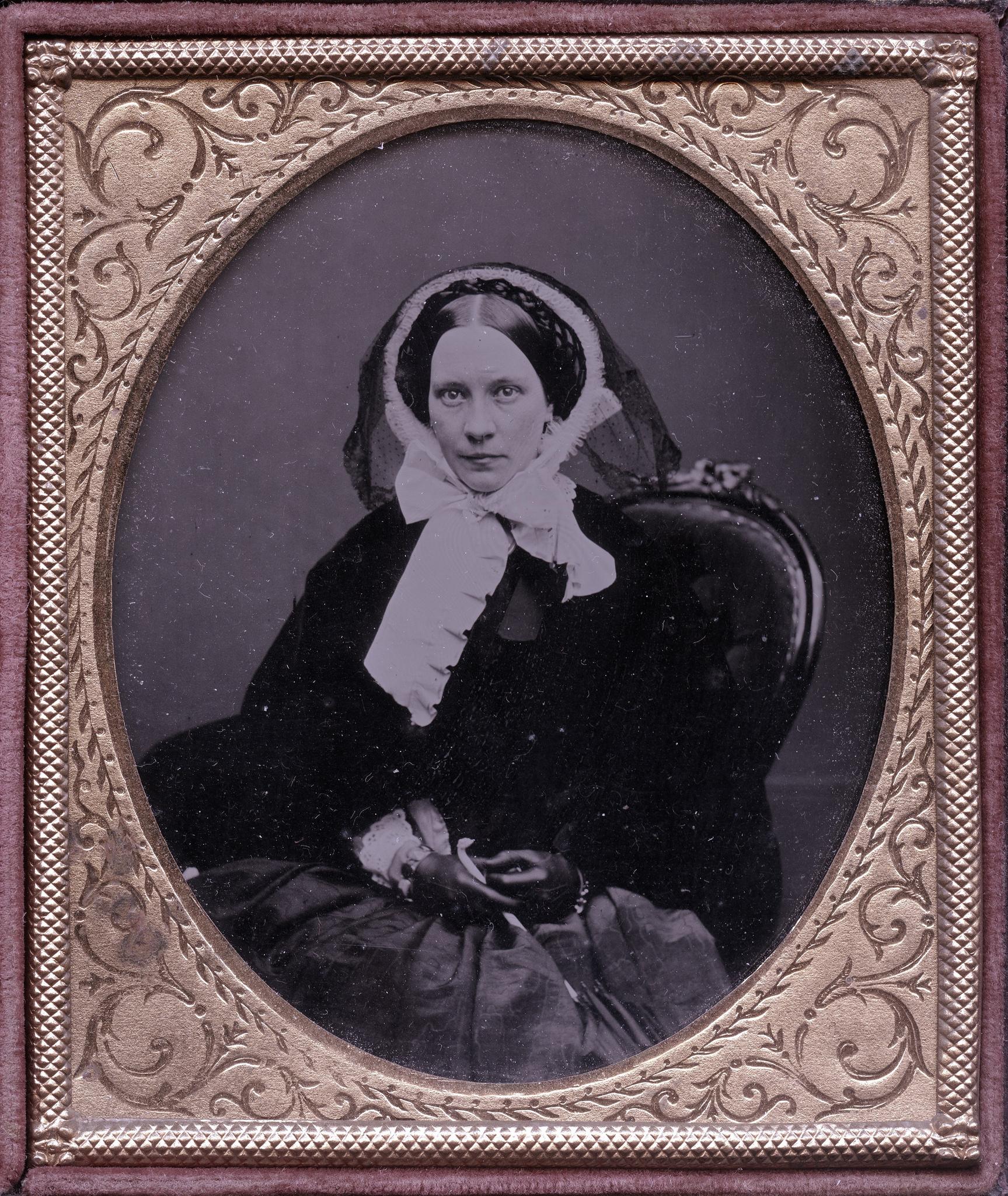 1857. Викторианская леди
