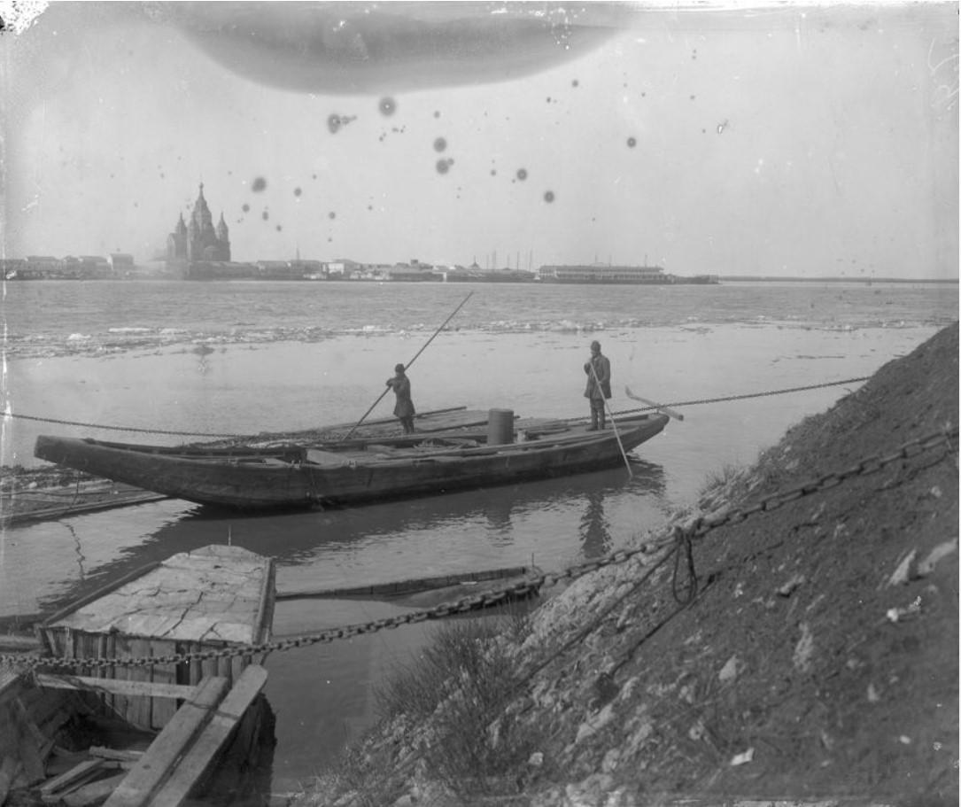 Весенний ледоход. 1913