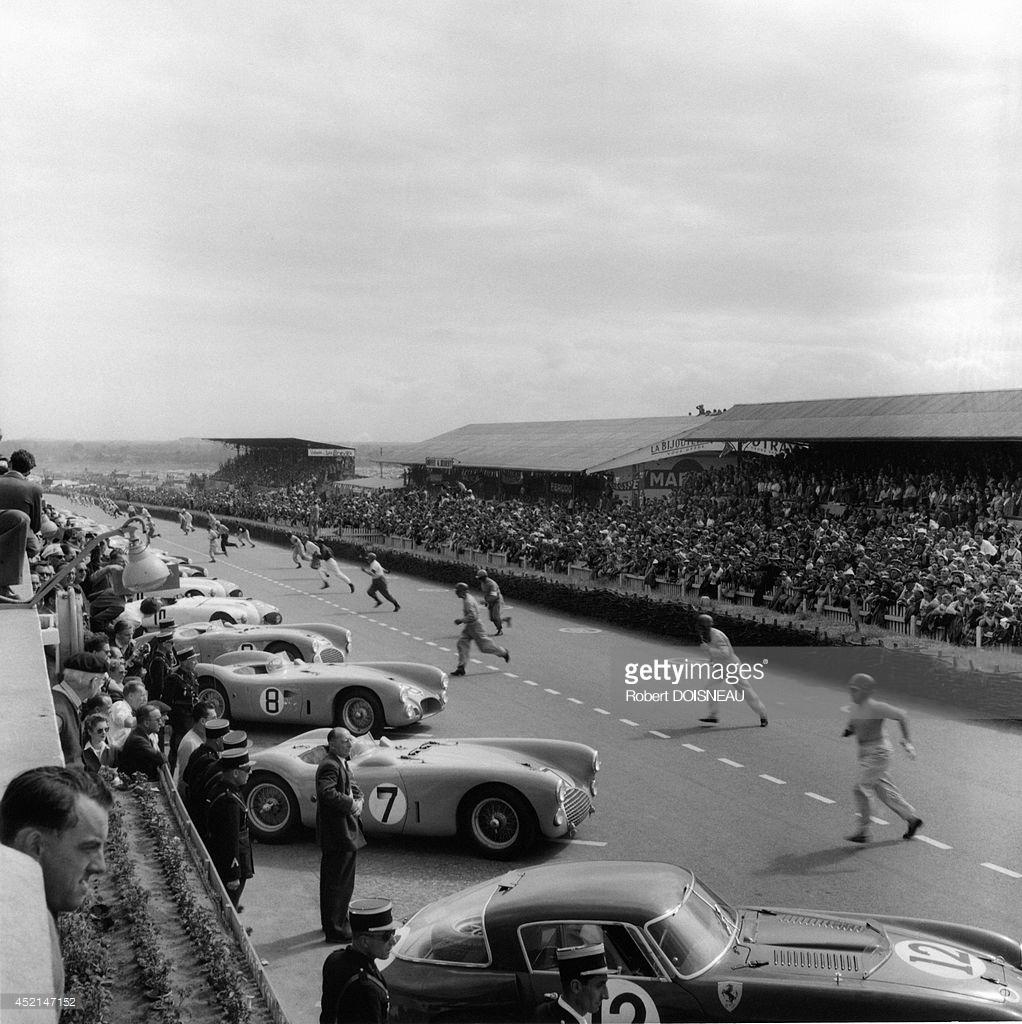 1953. Старт гонок Ле-Ман
