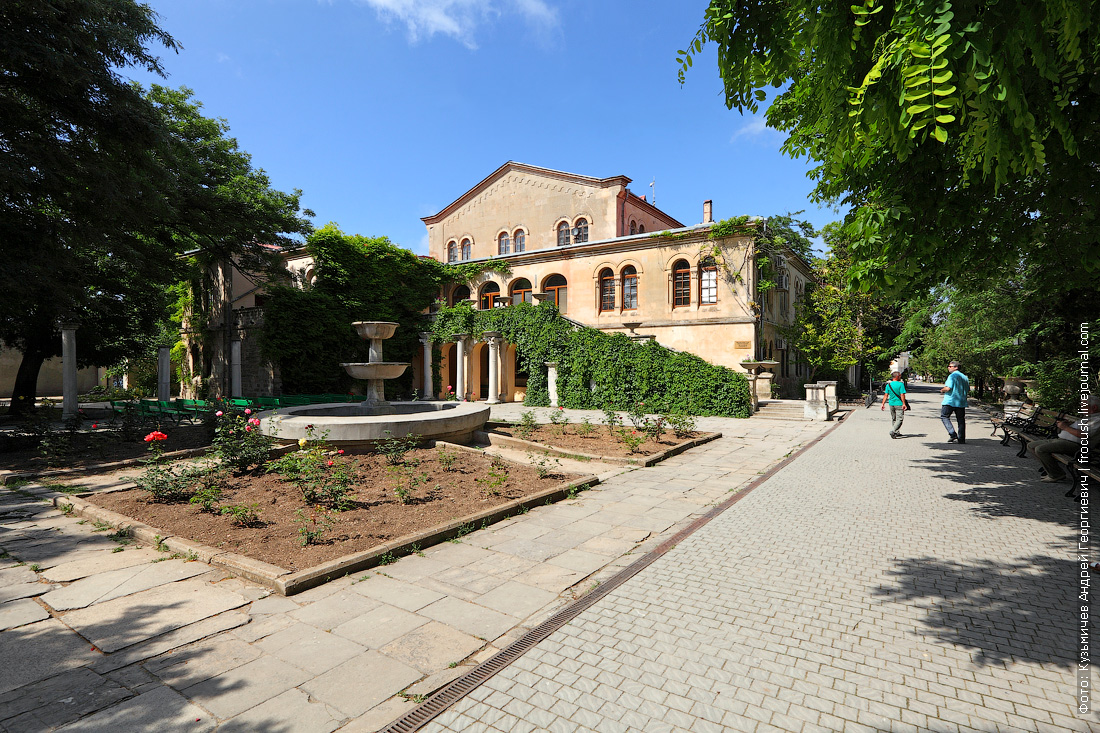 Крым Херсонес Таврический Римский дворик