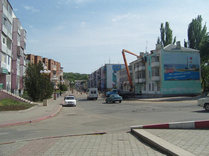ул.Самойленко, вид на юг