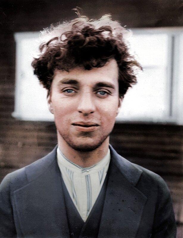 Чарли Чаплин в возрасте 27 лет, 1916 год © BenAfleckIsAnOkActor