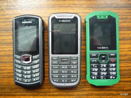 Samsung B2710 и C3350, Texet TM-509R
