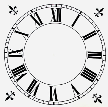 шаблон часов шаблон для фотошопа скачать бесплатно