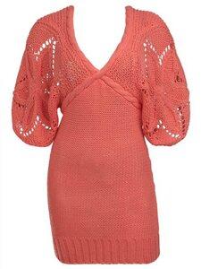 Звездa спицами - свитер или платье