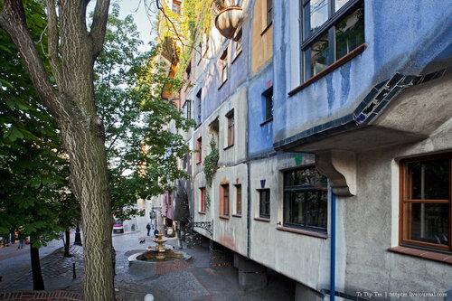 1. Улицы вечерней Вены.