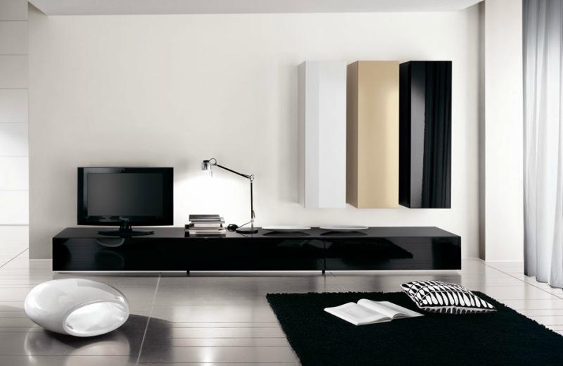 Черный цвет в дизайне интерьера фото 10