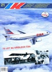 Журнал Letectvi + Kosmonautika 1998-21